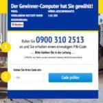 Gewinnspiel Anruf 0900 IKEA-Fake