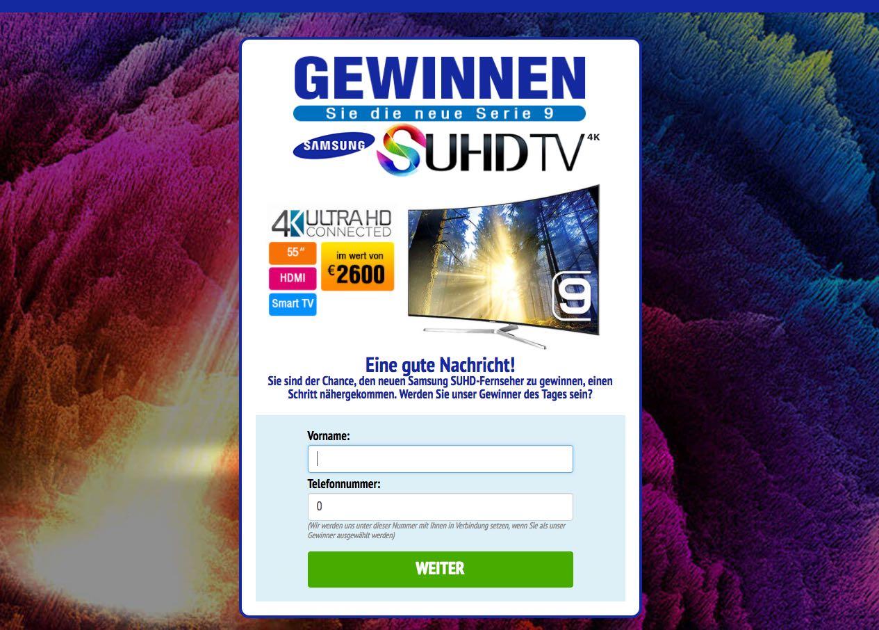 Suhd Tv Gewinnspiel