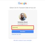 Gmail Passwort ändern 3