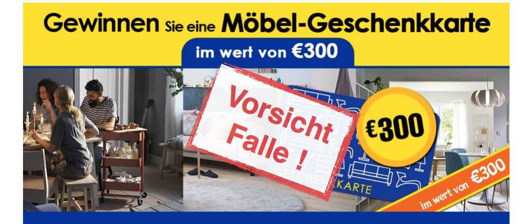 Ikea Geschenk 300 Euro Geschenkkarte Ist Eine Kostenfalle Warnung