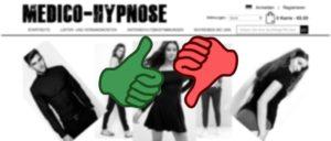 Onlineshop medico-hypnose.de ist nicht sicher