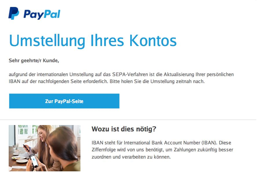 Paypal@Sepa.Com