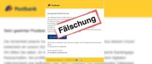 Postbank Trojaner-App: E-Mail für zertifizierte Bankingapp ist Phishing