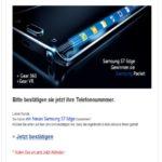 Samsung Gewinnspiel ist Betrug