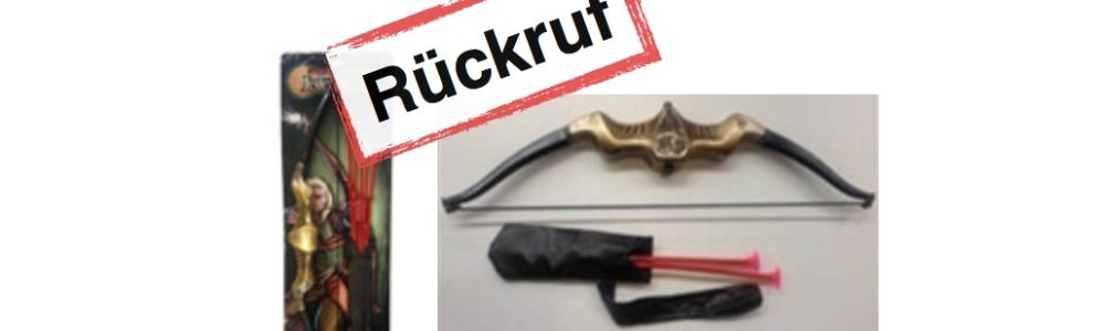 "Toys""R""Us Rückruf: True Heroes, Elfen Bogen Set"