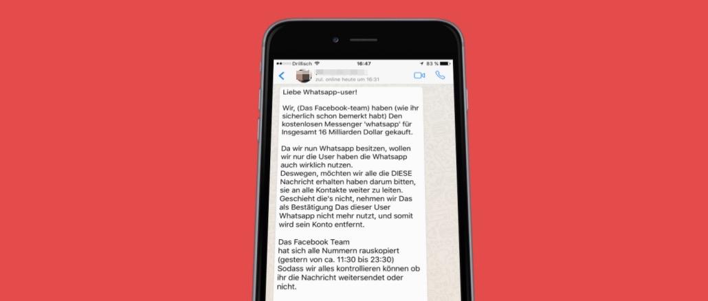 facebook whatsapp kettenbrief messenger wird kostenpflichtig. Black Bedroom Furniture Sets. Home Design Ideas