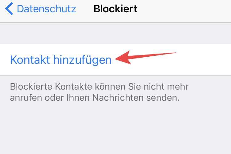Ich blockiert messenger wurde im Facebook blockieren