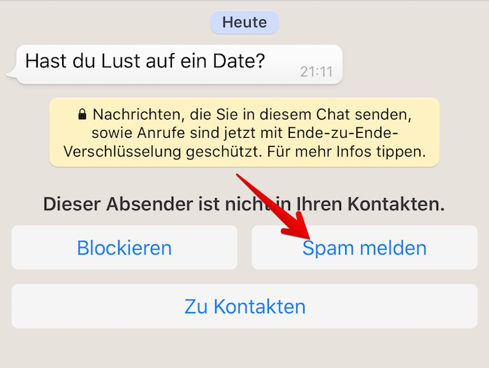 Blockieren bei whatsapp was passiert