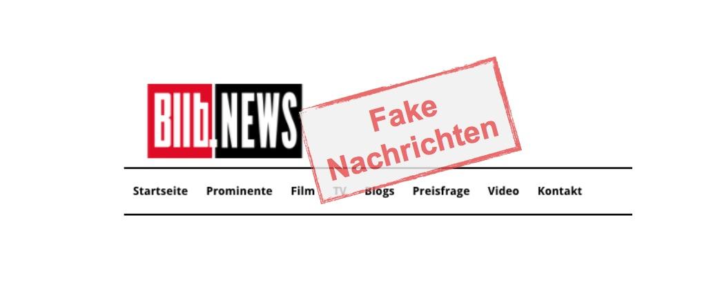 BIlb.News: Fake-Nachrichtenseite im Stil von Bild.de