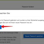 eBay Kleinanzeigen Passwort ändern 3