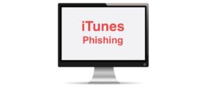 iTunes Phishing email