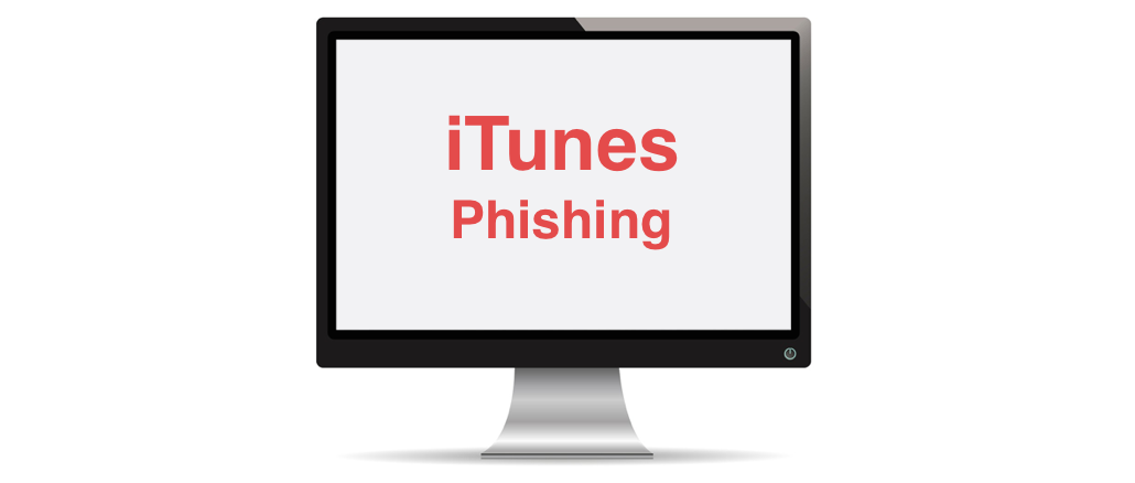 iTunes Phishing email