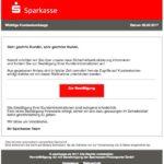 2017-02-05 Sparkasse Phishing Sicherheitsaktualisierung