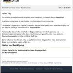2017-02-08 Amazon Phishing Betrug Konto gesperrt