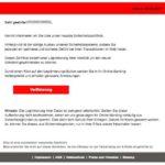 2017-02-09 Sparkasse Sicherheitszertifikat Phishing Betrug