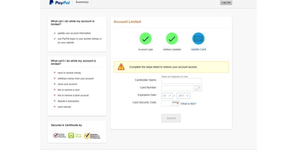 Im letzten Schritt sollen Sie nun auch noch die Daten Ihrer Kreditkarte angeben. (Screenshot)