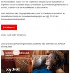 2017-02-26 Systemaktualisierung Sparkasse Phishing Mail