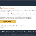 2017-02-26 Wichtige Kundendurchsage Amazon Phishing Mail