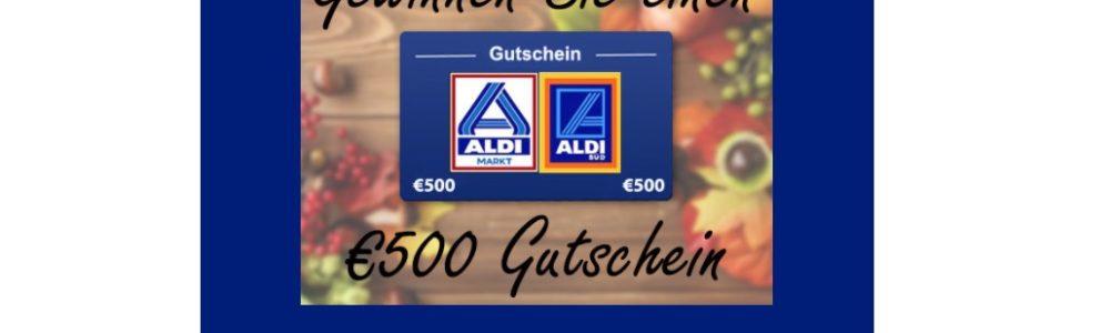 E-Mail im Namen von Aldi: Gewinnspiel mit 500 € Gutschein ist eine Täuschung