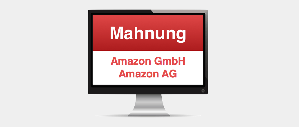 amazon gmbh amazon ag rechnung mahnung ist spam mit virus. Black Bedroom Furniture Sets. Home Design Ideas
