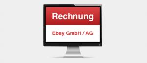 Mahnung Rechnung Ebay GmbH AG Virus