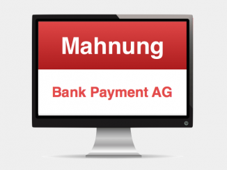 Online Payment AG Mahnung Spam Betrug
