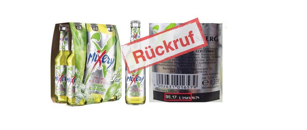 Prost Mahlzeit: Karlsberg Brauerei ruft MiXery Nastrov Flavour Iced Lemon wegen Fremdkörper zurück