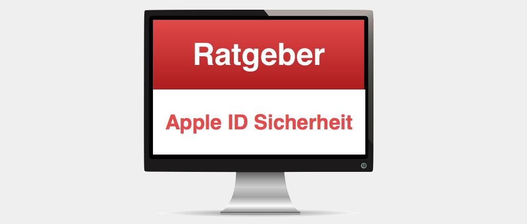Ratgeber Apple ID Sicherheit