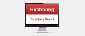 Rechnung Mahnung der DirectPay GmbH ist Spam Virus