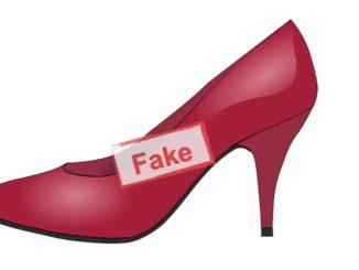 Symbolbild Fakeshop Schuhe