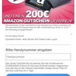 200€ Amazon Gutschein: Gefälschte Amazon-E-Mail lockt Sie in Abofalle