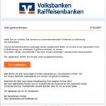 2017-03-01 Volksbank Phishing Sicherheitsüberprüfung
