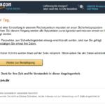 2017-03-09 Amazon Phishing Wichtig Kundenkonto Gesperrt