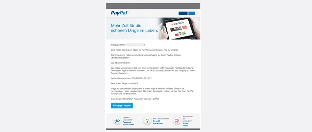 2017-03-22 PayPal Phishing