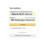 Amazon Passwort ändern 3