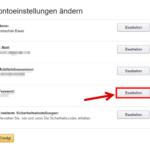 Amazon Passwort ändern 4