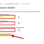 Amazon Passwort ändern 5