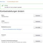 Amazon Passwort ändern 6