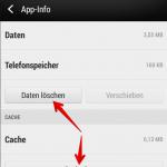 Android Browserdaten löschen 5