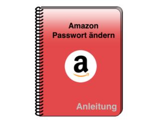 Anleitung Amazon Passwort ändern