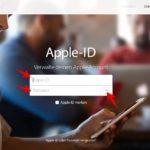 Apple ID-Passwort ändern