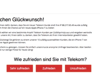 popup telekom kunde gewinnspiel