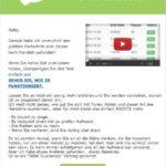 Centuren App Werbe-Mail