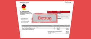 DE Deutsche Domain Rchnung Spam Betrug