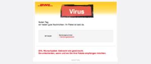 DHL Virus Ihr DHL Paket kommt