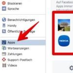 Facebook App Einstellungen 2