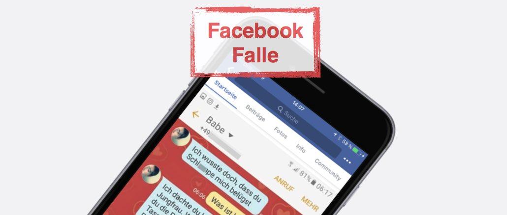 Facebook Falle Datenklau Bilder