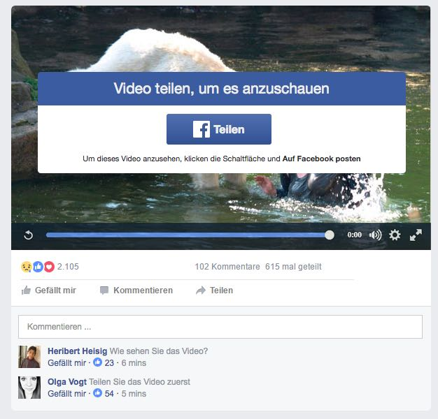 Facebook Video Abofalle 1