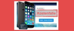 Gewinnspiel iPhone 7 Kostenfalle