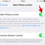 Mein iPhone suchen aktivieren deaktivieren 3